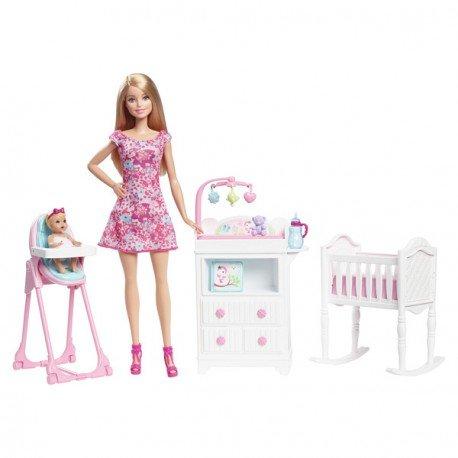 Barbie Babysitter Dolls y Playset (Mattel DVJ60)