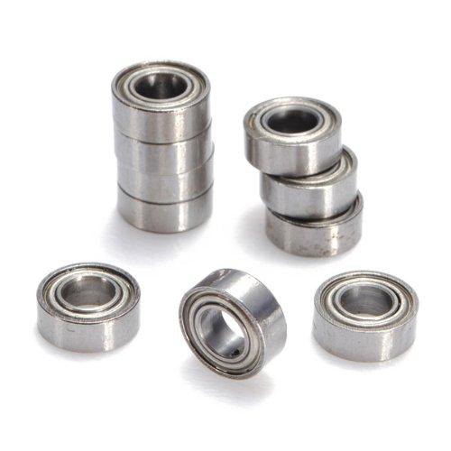 Preisvergleich Produktbild 10x Miniatur Kugellager MR84-ZZ Rillenkugellager Industrie Top Qualitaet