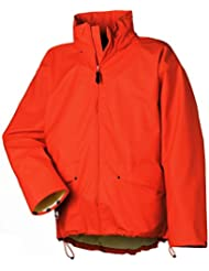 Helly Hansen Workwear Regenjacke wasserdicht Voss Jacket, orange, 70190, L
