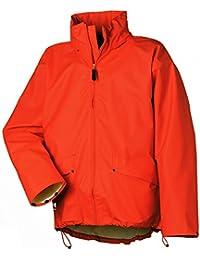 Helly Hansen Workwear Regenjacke wasserdicht Voss Jacket, orange, 70191, M