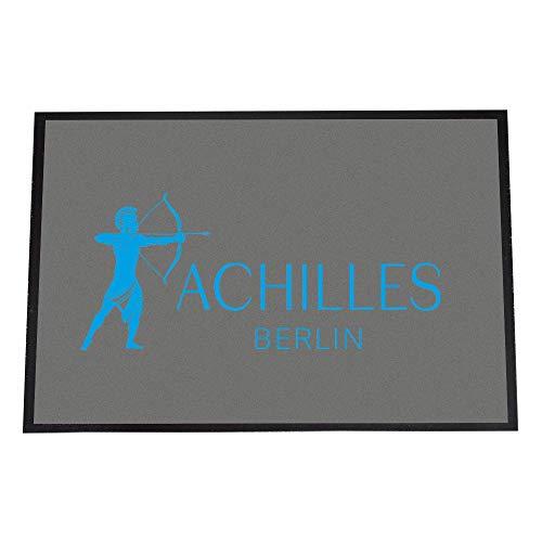 Achilles Berlin Designer Fußmatte, Made in Germany, Fußmatte Bedruckt