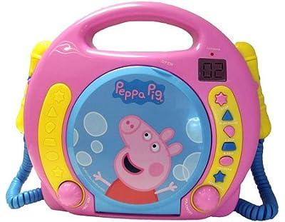 Peppa Pig - CD Dual Karaoke Boombox por Ingo Devices