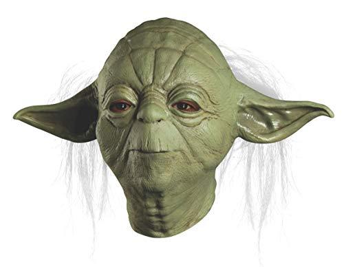 Rubies Kost-me Star Wars Yoda Overhead Latex Maske - Erwachsene - One-Size Deluxe Latex Maske