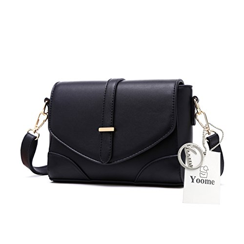 Borsa da viaggio con borsa a tracolla Womens Messenger Bag Borsa e portafogli da donna Borsa portafogli da donna - Rosso Nero