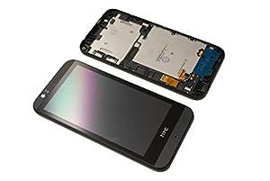 HTC Desire 510 LCD Display Touch Screen Glas Scheibe Rahmen Komplett Original Neu