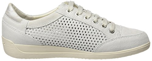 Donna D B Myria Off White Sneaker Geox Bianco wIpdTfpq