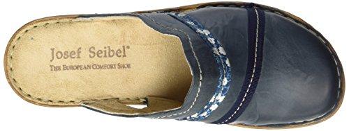 Josef Seibel Rebecca 15 Damen Clogs Blau (shark)