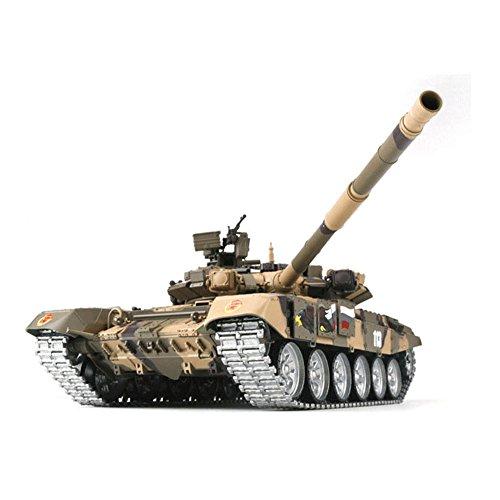 Garsent RC Tank Spielzeug, Kunststoff Elektrische Russische T-90 2.4 Ghz RC Tank Panzer Modell Spielzeug mit Fernbedienung