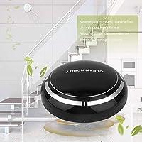 Lorenlli Mini Inteligente Eléctrico Inalámbrico Automático Multidireccional Redondo Robot de Barrido Aspirador Inteligente ...