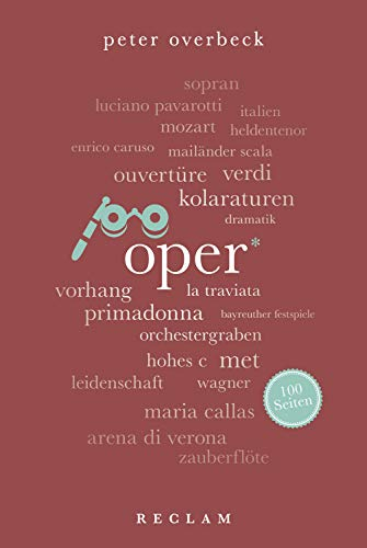 Oper. 100 Seiten: Reclam 100 Seiten