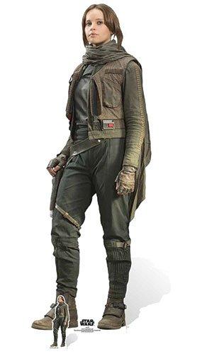 jyn ERSO Felicity Jones Karton Ausschnitt, Mehrfarbig (Star Wars Karton Ausschnitte)