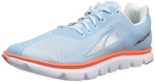 Altra A2423 Femmes Un Carré Athlétisme Chaussures Bleu Ciel