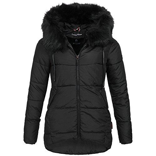 Test Marikoo JALE Damen Jacke Steppjacke Winterjacke lang warm Mantel Parka  XS-XXL 6Farben Günstig Shoppen d847229c4e
