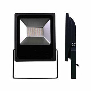 LUMiLiFE SMD-Flutlicht, 50 W, IP65, Kaltweiß, Schwarz