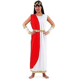 Carnival Toys Blanca romana tamaño de vestuario M-L. Traje Romano talla