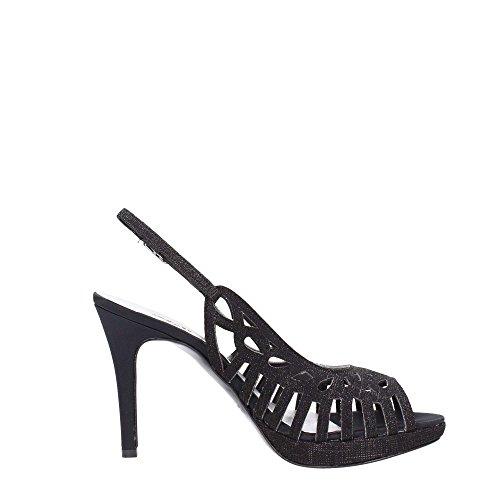 Melluso J471N Sandal Femme Black