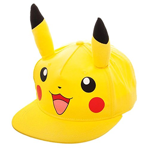 Pokemon-Pikachu-Youth-Snapback-Gorra-De-Bisbol