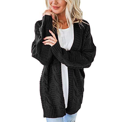 WUSIKY Damen/Mädchen / Knit Cardigan Strickwaren Pullover Kimono Capes Robe Wrap Outwear Elegante -Oberseiten dünner Parka-Der Park...