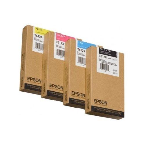 Epson T6124 Cartouche d'encre d'origine 1 x jaune