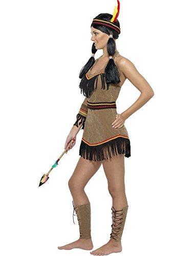 Kostüm Indianerin, braun, Gr. (Fancy Dress Kostüme Indien)