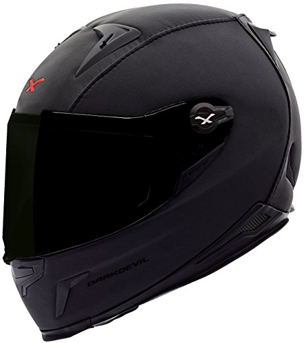 Preisvergleich Produktbild NEXX X.R2 DARK DEVIL Leder Integralhelm schwarz XL