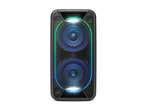 Sony GTK-XB90 Leistungsstarkes One Box Soundsystem (Extra Bass, Bluetooth, NFC, USB, Lichteffekte, bis zu 16 Stunden Akkulaufzeit) Schwarz