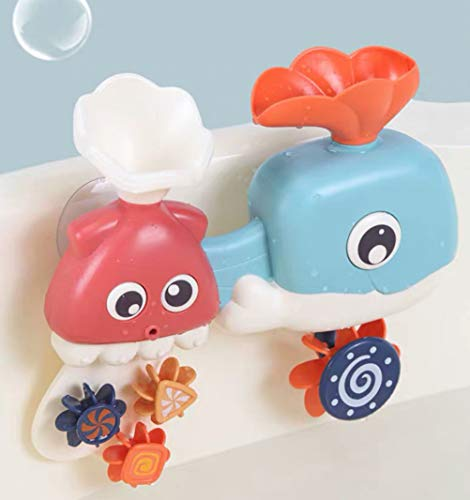Lehoo Castle Badewannenspielzeug ab 3 Jahren, Badespielzeug Baby ab 1 Jahr,  Badespielzeug für Kleinkinder, Wasserspielzeug Kinder Badewanne, Wasserspielzeug kinder