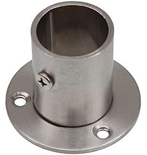 K240 L/änge 300mm Edelstahl Rundrohr V2A /Ø 40x1,5mm 30cm auf Zuschnitt