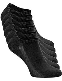 Greylags Calzini Premio Qualità Sportiva Respirabile Rinforzato Sneaker Calzini   Uomo e donna   80% cotone   Certificato Oeko-Tex Standard 100   Confezione da 6