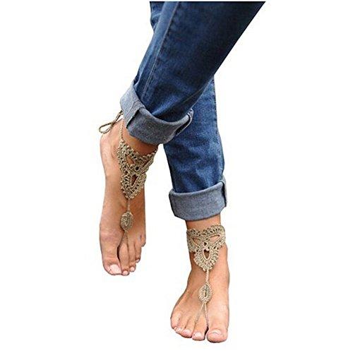 swirlcolor-bijoux-2x-crochet-barefoot-sandals-beach-cheville-pied