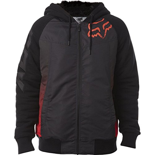 Fox Zip Hoody Dispatched Sasquatch Blau Black