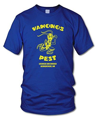 shirtloge - VAMONOS PEST - KULT - Fun T-Shirt - in verschiedenen Farben - Größe S - XXL Royal