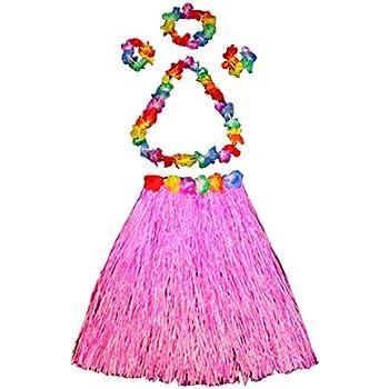 NFACE Jupe Herbe Danseur de Hula Hawa/ïen /Élastique