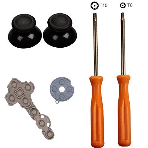 timorn-2-pieces-plastic-analog-thumbsticks-3d-thumb-stick-grip-cap-cover-1-set-rubber-controller-con