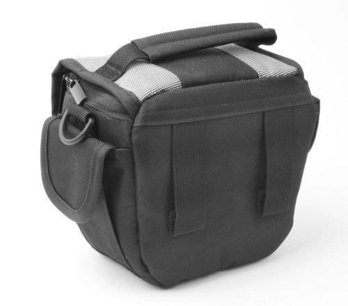 Duragadget borsa adattabile per videocamera compatibile con toshiba camileo h20 hd