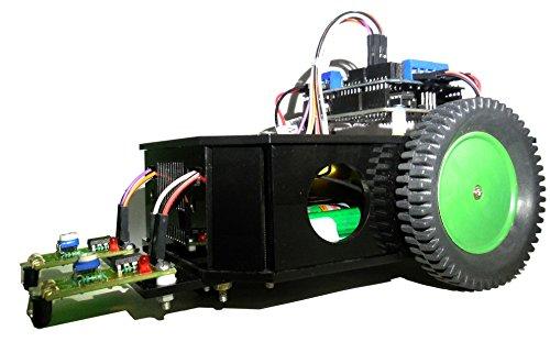Robo India Arduino Based Line Follower Kit with original Arduino UNO Board.