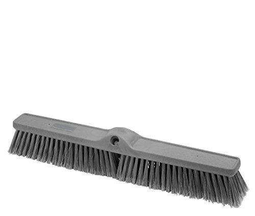 Rubbermaid Executive Serie Glatte Oberfläche fine-duty Sweep, Kunststoff Besen Kopf, 61cm 1861213 Duty Push-broom Head