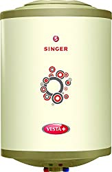 Singer Vesta Plus 2000 Watts Glass Line Storage Water Heater 25 Litre