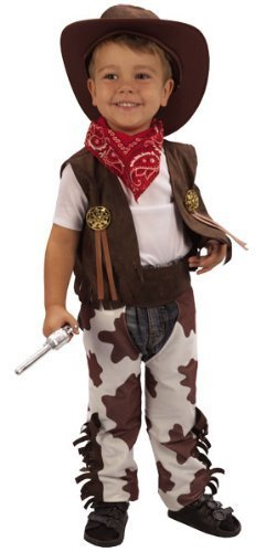 Cowboy Fancy Dress Toddler Costume Age 3 (disfraz)