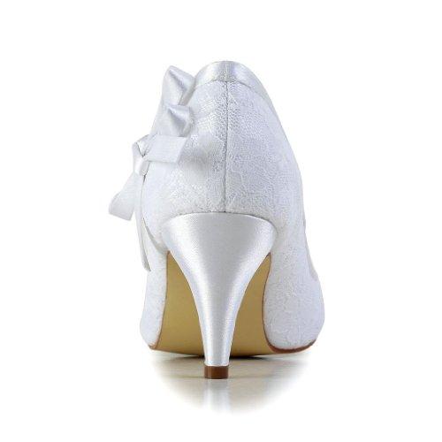 Blanc mariage Jia pour Escarpins mariée chaussures femme 594946 Jia Wedding de vqgPqY