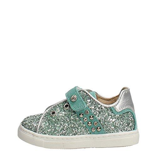 Florens E8456 Sneakers Bambina Glitter VERDE ACQUA VERDE ACQUA 20