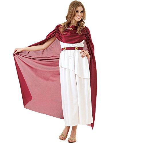 Kaiserin Kostüm Erwachsene - Unbekannt Römische Kaiserin Damen Halloween Kostüm