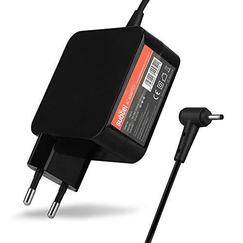 subtel® Qualitäts Ladekabel - 2.2m (1.5A / 1500mA) kompatibel mit Acer Iconia Tab A100 / A101 / A200 / A210 / A211 / A500 / A501 / W3-810 (12V / 3.0mm x 1.1mm) Ladegerät Netzteil Charger schwarz A500 Fall