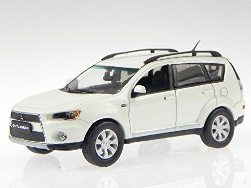 Preisvergleich Produktbild Mitsubishi New Outlander 2011 solidweiss Modellauto 29333 Vitesse 1:43
