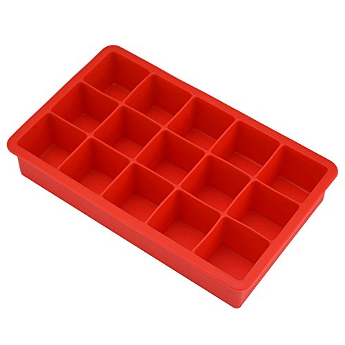eboot-15-square-soft-silicone-ice-cube-tray-red
