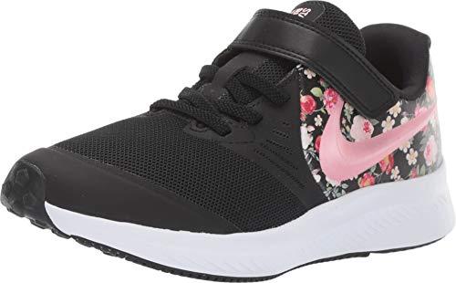 Nike Mädchen Star Runner 2 VF (PSV) Sneaker, Schwarz (Black/Pink Tint-Pale Ivory 001), 28 EU
