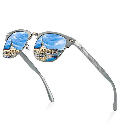 Bsunglasses Herren New Polarized Design Alle Aluminium-und Magnesium-Rahmen, Fahrspiegel Classic, Outdoor, Angeln, Fahrrad, Uv400-Schutz, Unterstützung Custom Your Own Trademark.