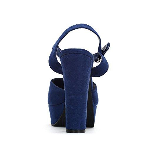 ESTRADÀ by Scarpe&Scarpe - Sandali alti Donna Blue