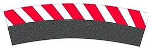 Carrera - Borde Exterior Curva peraltada 2/30°, 6 Piezas y terminales, 2 Piezas (20020565)