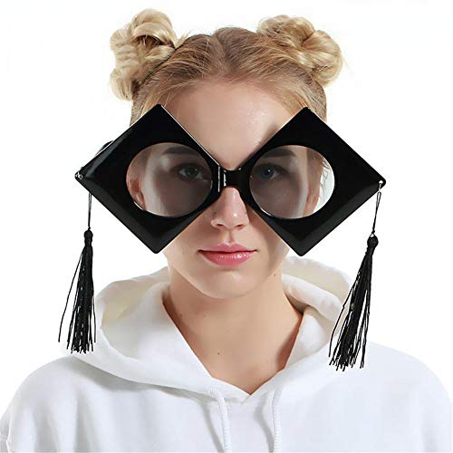 Fashion 1pcs Big Doctor Cap Glasses Graduation Party Masquerade Funny Photo Taking Props Prom - Photo Prop Photobooth Photo String Prop Photography Decor Prop Photo Pho ()